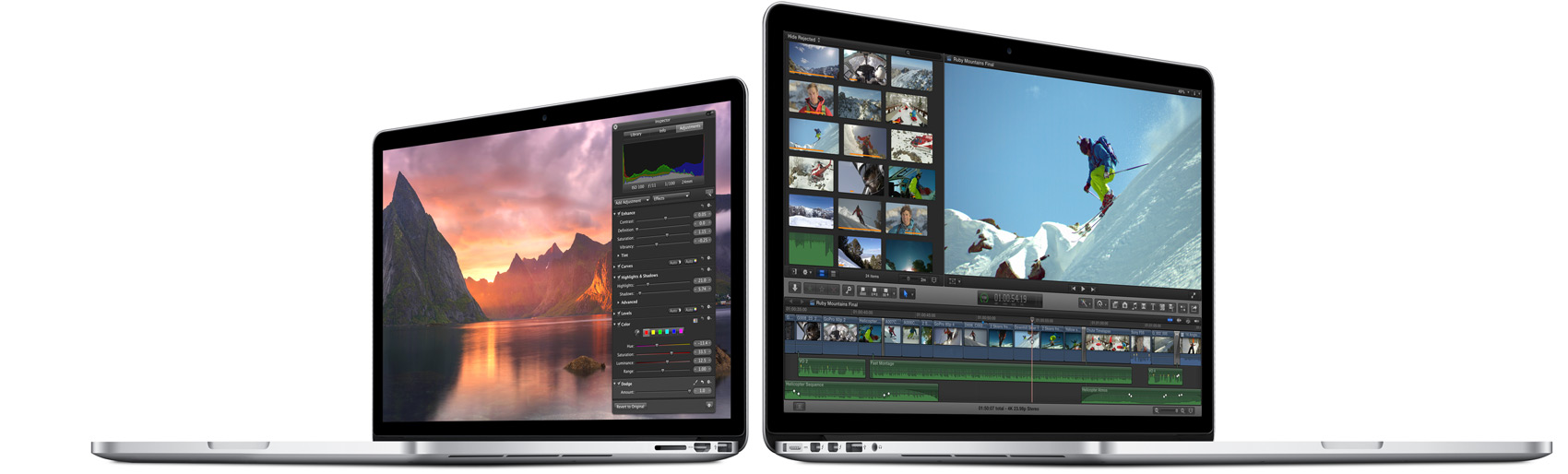 Apple MacBook Pro Retina Display 15 and 13 inchi