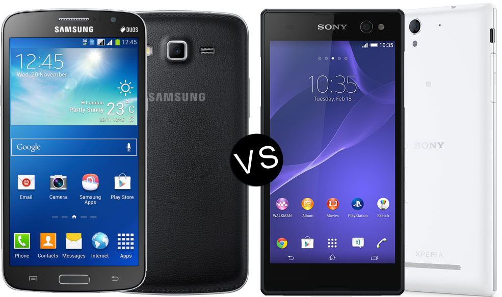 Sony Xperia C3 VS Samsung Galaxy Grand 2