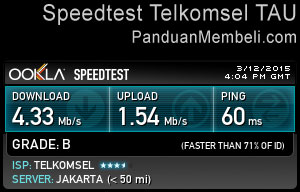 Speedtest-Telkomsel-TAU