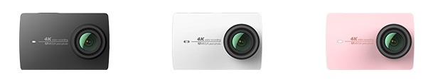 Xiaomi Yi 4K Action Camera Pilihan warna