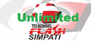 Paket Internet Unlimited Kartu simPATI Flash Optima
