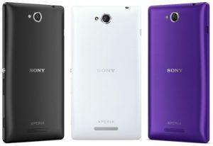 Spesifikasi Sony Xperia C
