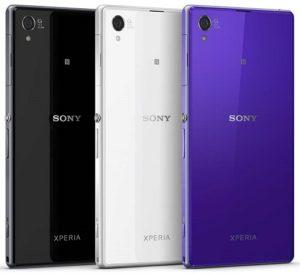 Pilihan Warna Sony Xperia Z1