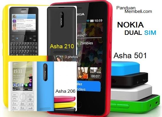 HP Dual SIM Nokia - Pilihan dan Harga