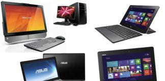 Pilih Notebook, Netbook, Desktop PC, All-in-One PC, atau Tablet PC