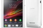 HP Android Termurah Merk Sony - Sony Xperia E - warna putih
