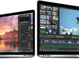 Apple MacBook Pro Retina Display 15 and 13 inchi