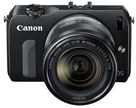 Harga Canon EOS M Kit 1