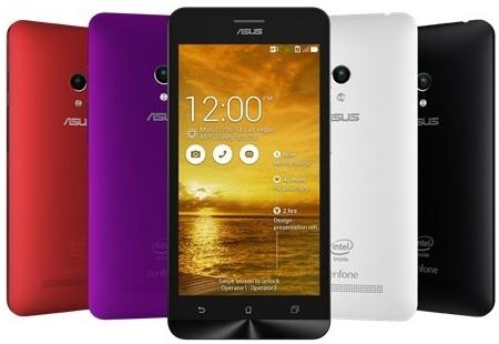 Pilihan warna Asus Zenfone 5