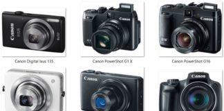 Daftar Harga Kamera Poket dan Prosumer Canon