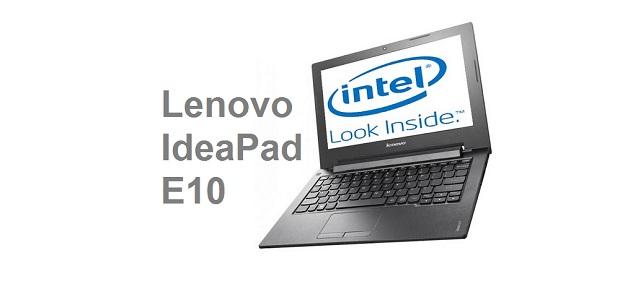 Lenovo IdeaPad E10 Series - Laptop 2 Jutaan
