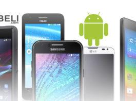 Pilihan Smartphone Android Terbaik Harga 1 Jutaan