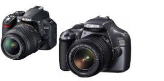 kamera DSLR termurah Canon Nikon