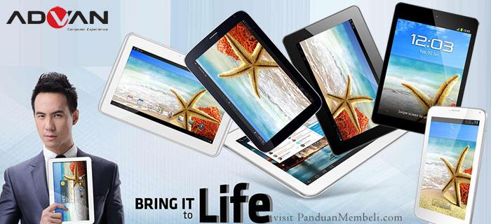 Harga dan Spesifikasi Tablet Advan Vandroid Semua Tipe