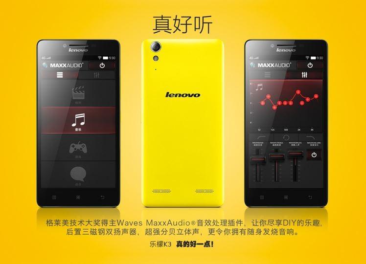 Lenovo K3 Music Lemon Spec Tangguh Harga 12 Jutaan