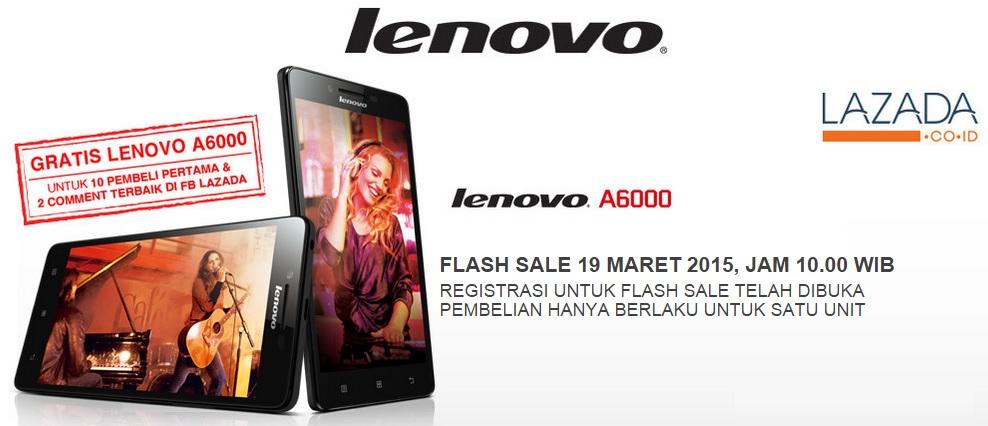Flash Sale Lenovo A6000 Lazada