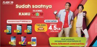 Paket internet Telkomsel TAU