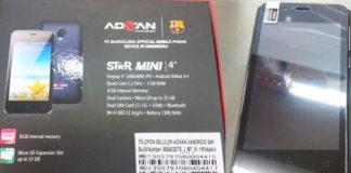 Harga-dan-Spesifikasi-Advan-Star-Mini