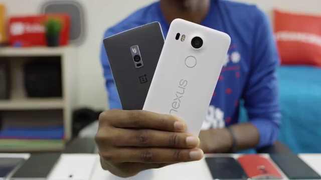 Smartphone Terbaik Tahun 2015 - OnePlus 2 dan Nexus 5x