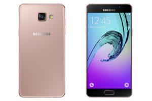 Galaxy-A5-PinkGold-Depan-belakang