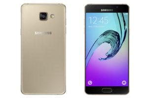 Samsung-Galaxy-A5-2016-Gold-Depan-Belakang