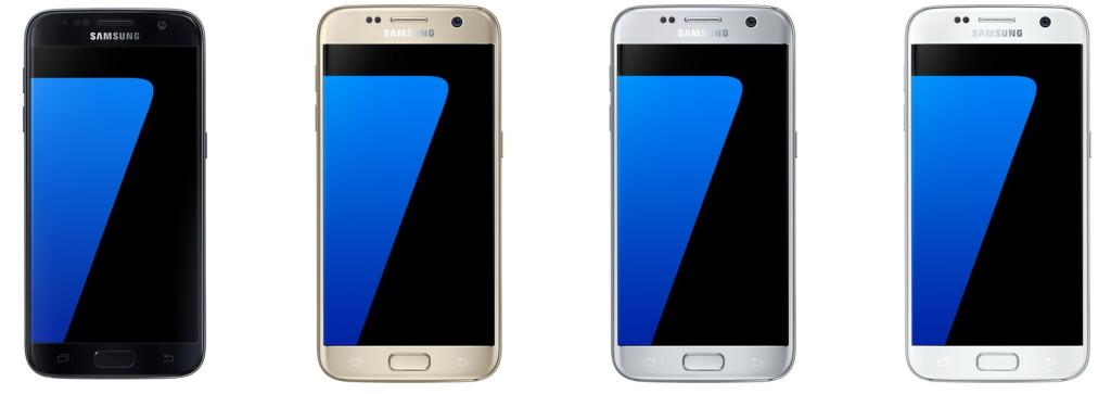 Pilihan warna Samsung Galaxy S7