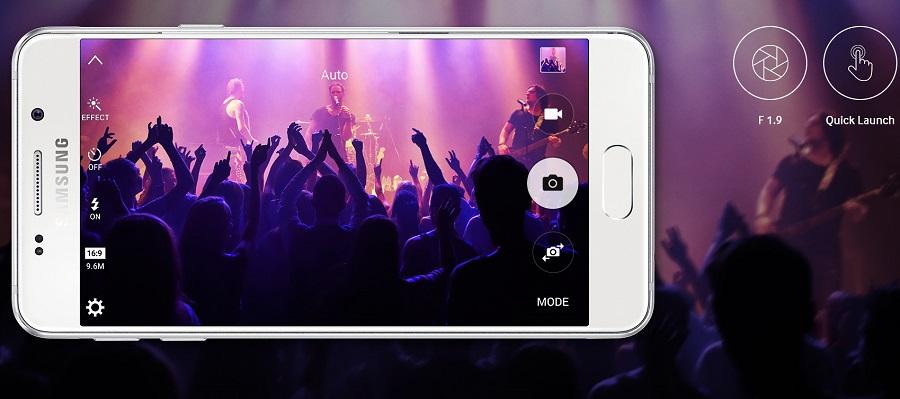 Kamera Samsung Galaxy A3 2016