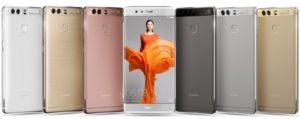 Pilihan warna Huawei P9
