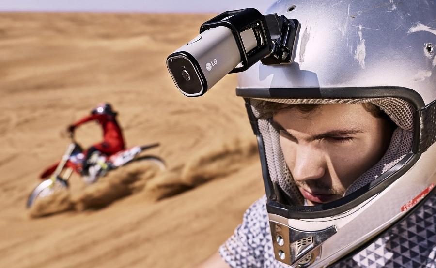LG Action Cam LTE Spesifikasi s