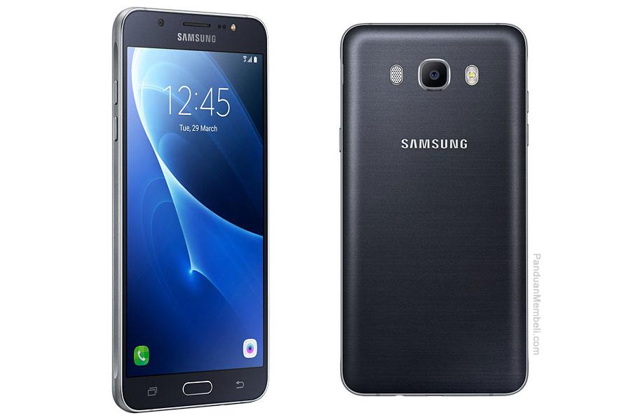 Samsung-Galaxy-J7-2016-Spesifikasi Gambar Depan Belakang