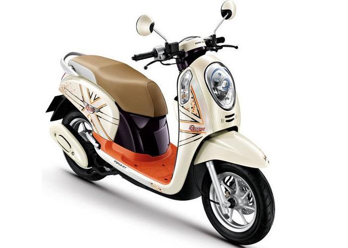 Honda Scoopy Matic terbaik honda