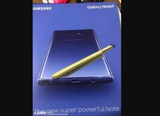Bocoran Spesifikasi Samsung Galaxy Note9 2018 2019