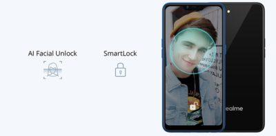 Face Unlock Realme C1