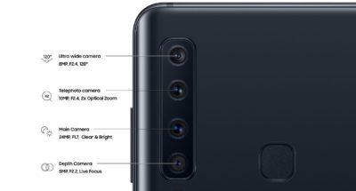 Kamera Samsung Galaxy A9 2019