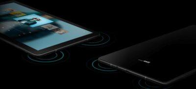 Stereo quad speakers Samsung Galaxy Tab S4
