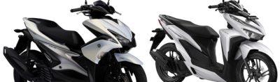 Yamaha Aerox 155 vs Honda Vario 150 2018 2019