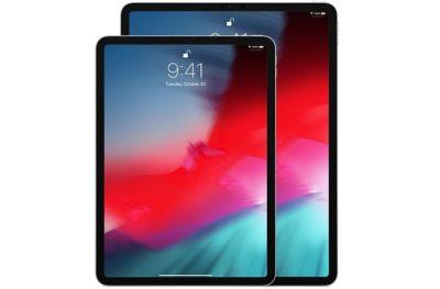 Perbandingan ukuran New iPad Pro 11 inch dan 12.9 inch 2018 2019