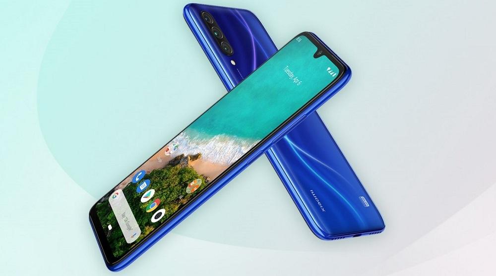 Harga Xiaomi Mi A3 2019 biru
