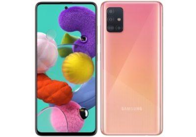 Fitur Samsung Galaxy A51 Pink