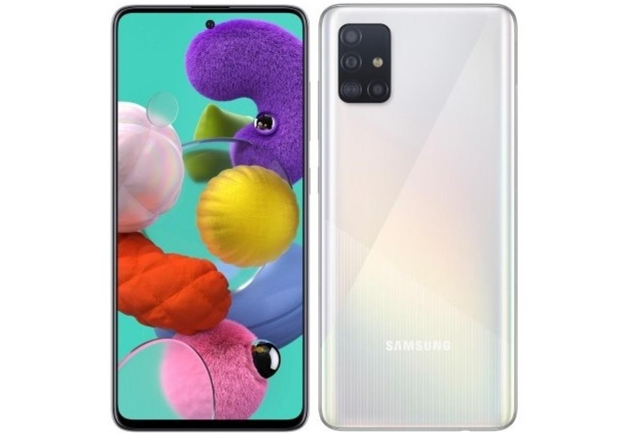 Unggulan Samsung Galaxy A51 putih