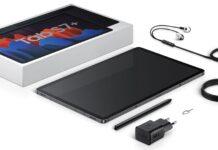 Isi box paket penjualan Samsung Galaxy Tab S7