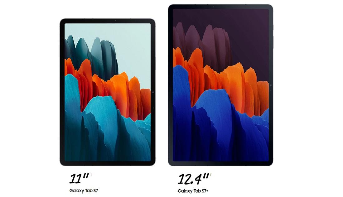 Perbandingan Samsung Galaxy Tab S7 dan S7 Plus