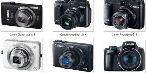 Daftar Harga Kamera Poket & Prosumer Canon, 2016