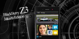 Harga BlackBerry Z3 (Jakarta Edition) + Spesifikasi