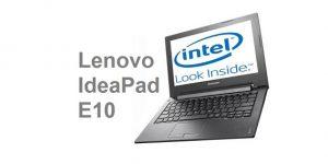 Lenovo IdeaPad E10 Series - Laptop Murah 2 Jutaan