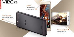 Lenovo Vibe K5, Android Terjangkau yang Menggoda