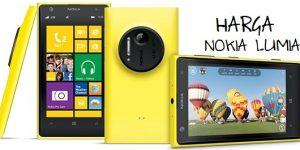 Harga 6 HP Nokia Lumia Pilihan + Spesifikasi