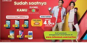 Info Lengkap Paket Telkomsel Flash Android TAU (Telkomsel Android United)