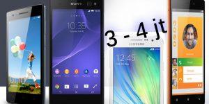 Top 7 Smartphone Android Terbaik Harga 3 - 4 Juta, Update 2016