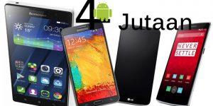 Top 6 Smartphone Android Pilihan Terbaik Harga 4-5 Juta, Update 2016